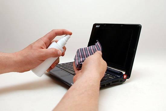 Resultado de imagen de Limpiando su laptops